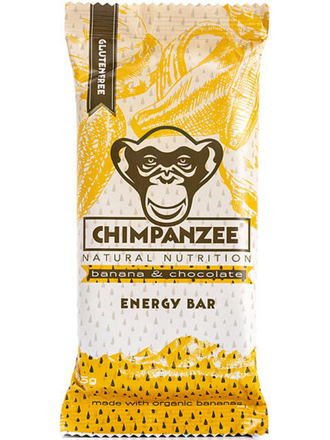 Chimpanzee Energy Bar Box 20x55g Banana Chocolate (Vegan)